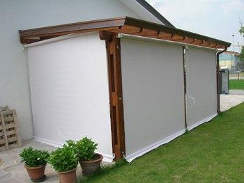 toldo vertical terraza madera