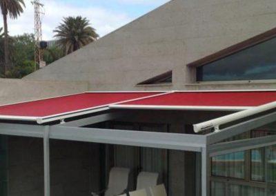 veranda para terraza vertical